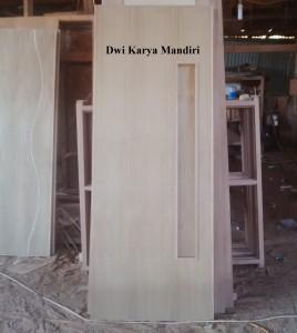 pintu teakwood jati