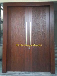 model pintu kayu